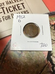 1912 D LINCOLN CENT G. 720