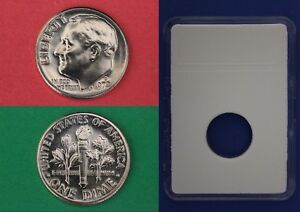 1972 D ROOSEVELT DIME WITH DIY SLAB FROM MINT SETS COMBINED SHIPPING