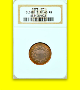 Click now to see the BUY IT NOW Price! 1873 NGC PR66 RB 600 MINTED  NON DOCTORED  NEARLY FLAWLESS  TWO CENT PIECE 2C