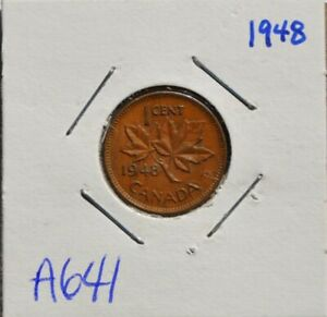1948 George VI Small Cent Mintage, Photos, Specifications