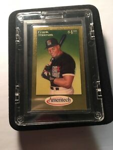 FRANK THOMAS 1 GRAM FINE GOLD  AMERITECH PHONE CARD