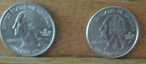 2005 P CALIFORNIA  2005 D OREGON STATE QUARTER UNCIRCULATED    NICE PAIR