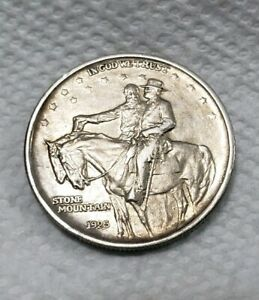 1925 STONE MOUNTAIN 50 CENT COMMEMORATIVE US HALF DOLLAR 50C
