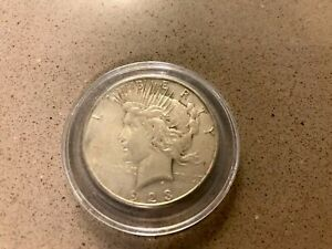 EARLY   1923 S   PEACE SILVER DOLLAR   90  US COIN