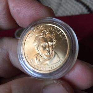 2008 P LIMITED EDITION PRESIDENTIAL OATH ANDREW JACKSON DOLLAR COIN