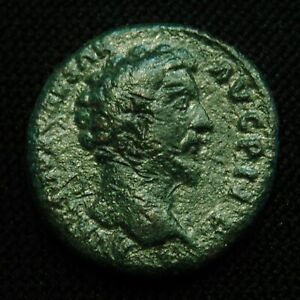Click now to see the BUY IT NOW Price! AS/DUPONDIUS MARCUS AURELIUS AS CSAR RV LICTOR FASCIS 11.55 GRAMS 25 6 AD 161