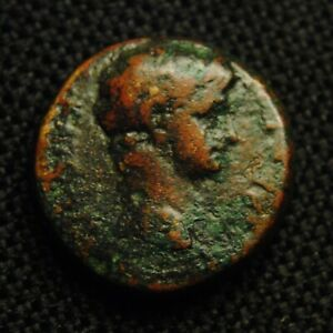 Click now to see the BUY IT NOW Price! 18 PHRYGIA HIERAPOLIS EMPEROR CLAUDIUS RV APOLLO LYRE 6.02 GRAMS 18MM AD 42 54