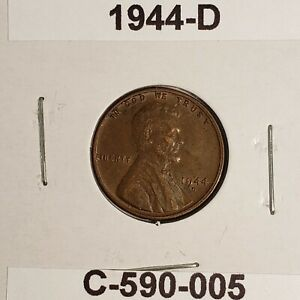 1944 D LINCOLN WHEAT CENT C 590 005