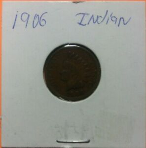 1906 INDIAN COPPER PENNY 112 YEARS OLD OWN A PIECE OF HISTORY