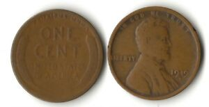 1919D     LINCOLN WHEAT CENT