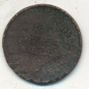 1809 CLASSIC HEAD HALF CENT WELL CIRCULATED EARLY TYPE COIN SHIPS FREE  INV:1