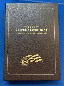 2009 US MINT LINCOLN COIN & CHRONICLES PROOF SET