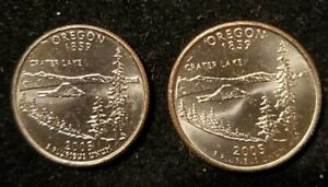 2005 P AND D OREGON STATE QUARTER   UNCIRCULATED