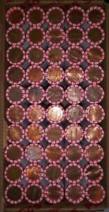 1  BANK ROLL OF 50 LINCOLN PENNIES  CENTS   PULLED FROM $25 BANK BOX