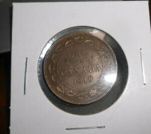 CANADA/CANADIAN 1919 LARGE CENT  NICER COIN