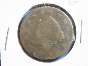 1822   LARGE CENT    MATRON HEAD   GOOD