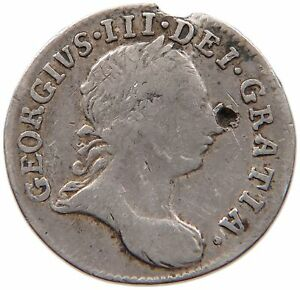 GREAT BRITAIN MAUNDY 3 PENCE 1762 T107 447