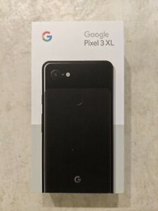 GOOGLE PIXEL 3 XL   128GB   JUST BLACK  UNLOCKED