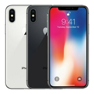 APPLE IPHONE X   64GB UNLOCKED VERIZON AT&T T MOBILE IN NEW CONDITION