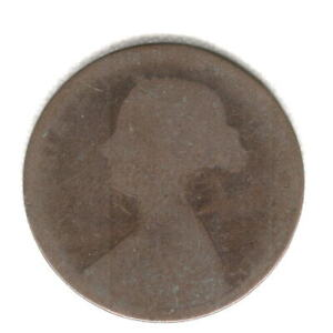 1868 BRITISH HALF PENNY BETTER DATE
