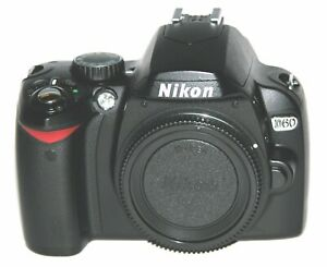 NIKON D60 10.2 MP DIGITAL SLR CAMERA   BLACK  BODY ONLY  1973