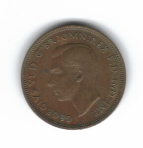 GREAT BRITAIN 1/2 PENNY 1942