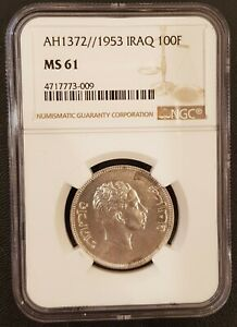 Click now to see the BUY IT NOW Price! IRAQ 100 FILS  COIN NGC MS 61 UNC