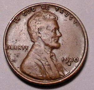 1930 S LINCOLN WHEAT CENT PENNY   NOT STOCK PHOTOS