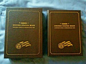 2009 LINCOLN COIN AND CHRONICLES SET WITH BOX AND C O A