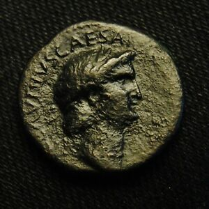 Click now to see the BUY IT NOW Price!   AS OF PERINTHUS EMPEROR NERO RV EAGLE ON GLOBE 9.14 GRAMS 24 5MM AD 64 6