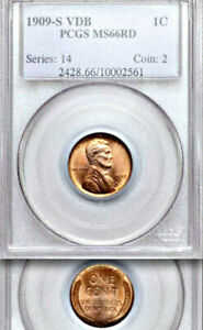 Click now to see the BUY IT NOW Price! 1909 S VDB PCGS MS66 RD