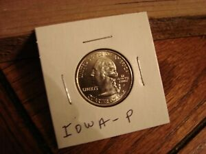 2004 P IOWA STATE QUARTER UNCIRCULATED COIN
