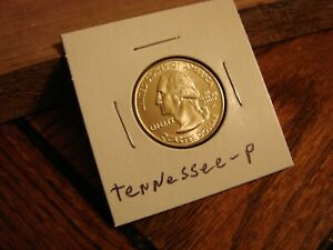 2002 P TENNESSEE STATE QUARTER UNCIRCULATED COIN