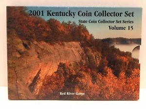 2001 KENTUCKY QUARTER STATE COIN COLLECTOR SET SERIES VOLUME 15