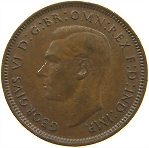 GREAT BRITAIN FARTHING 1945  S24 201