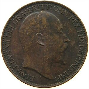 GREAT BRITAIN FARTHING 1903 S20 519