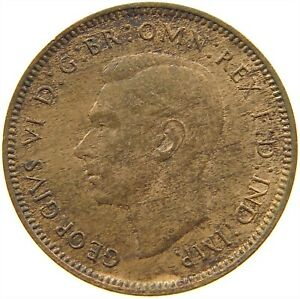 GREAT BRITAIN FARTHING 1948 S19 405