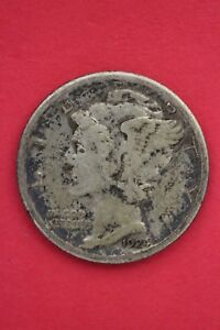 1924 S WINGED MERCURY DIME  EXACT COIN SHOWN FLAT RATE SHIPPING OCE138