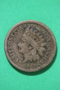1861 INDIAN HEAD CENT PENNY LOW GRADE EXACT COIN SHOWN COMBINED SHIPPING OCE 105
