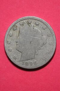 1896 LIBERTY V NICKEL EXACT COIN SHOWN FAST FLAT RATE SHIPPING OCE231