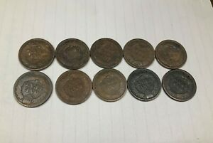 INDIAN HEAD CENTS. 1892 1900 1902 1903  2  1905 2  1906 1907 2 . SEE PHOTOS.