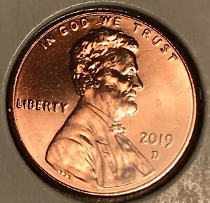 2019 D LINCOLN CENT   HIGH GRADE