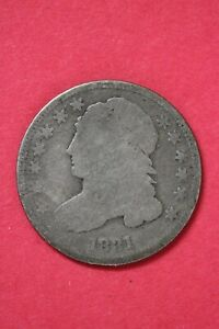 1831 CAPPED BUST DIME SILVER COIN EXACT COIN SHOWN LOW GRADE COIN OCE 21