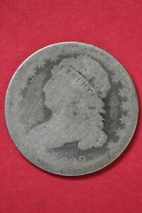 1832 CAPPED BUST DIME SILVER COIN EXACT COIN SHOWN LOW GRADE COIN OCE 15