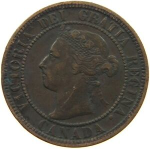 CANADA LARGE CENT 1899 S8 083