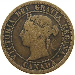 CANADA LARGE CENT 1888 S13 103