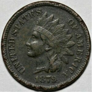 1879 INDIAN HEAD CENT  >> US 1C PENNY COIN <<  FLAT RATE SHIPPING   LOT 1