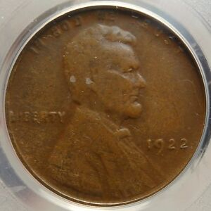 Click now to see the BUY IT NOW Price! 1922 NO D LINCOLN CENT 1922 PLAIN CLASSIC ERROR/VARIETY PCGS CERT    0407 06