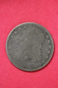 1835 CAPPED BUST DIME SILVER COIN EXACT COIN SHOWN LOW GRADE COIN OCE 24