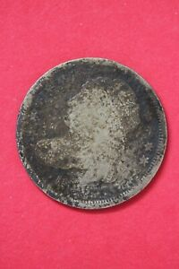1836 CAPPED BUST DIME SILVER COIN EXACT COIN SHOWN LOW GRADE COIN OCE 04